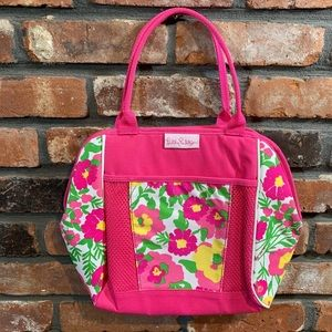 Lilly Pulitzer Floral Gardening / Craft Tote Bag